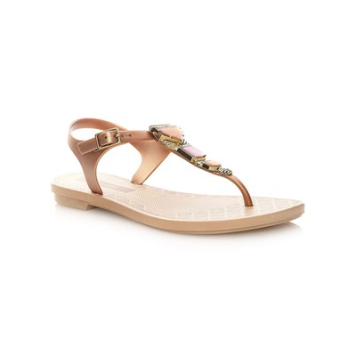 zapatillas Grendha JEWEL SANDAL Chanclas beige