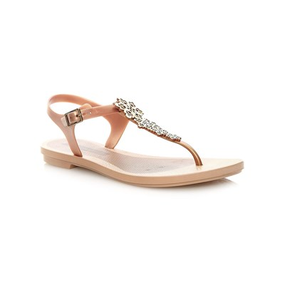 zapatillas Grendha ROMANTIC SANDAL Chanclas beige