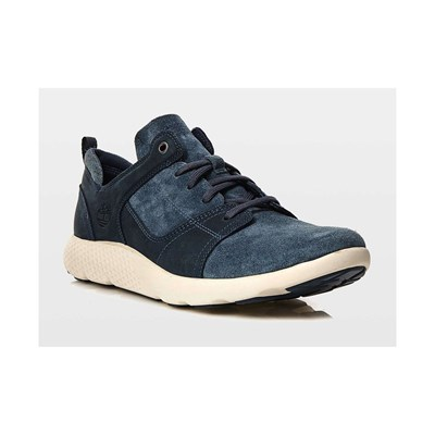 zapatillas Timberland FlyRoam Leather Oxford Zapatillas de cuero azul marino