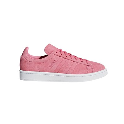zapatillas Adidas Originals Campus Stitch And Turn Zapatillas de cuero rosa