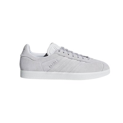 zapatillas Adidas Originals Gazelle Stitch And Turn Zapatillas de cuero gris