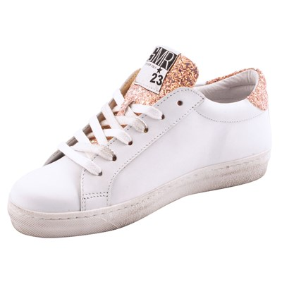 Exclusif Baskets Paris Cuir En Blanc Gecida rEWrq0