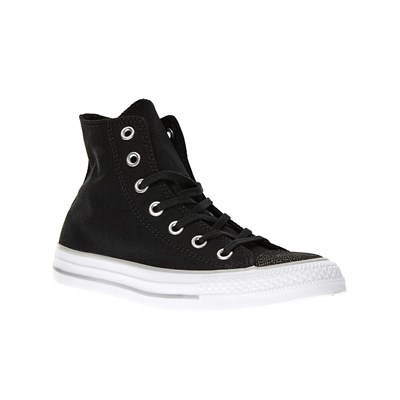 zapatillas Converse Chuck Taylor All Star Tipped Metallic Toecap Hi Zapatillas de ca?a alta negro