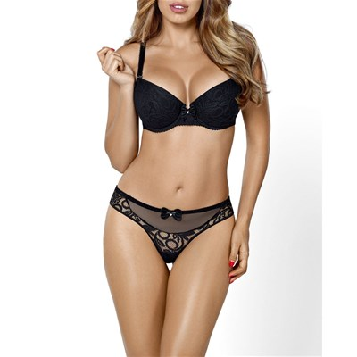 Push Hamana Nero up Reggiseno Ultimate PwnFqEg0n