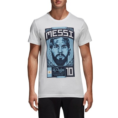 Adidas Performance messi - t-shirt manches courtes - blanc