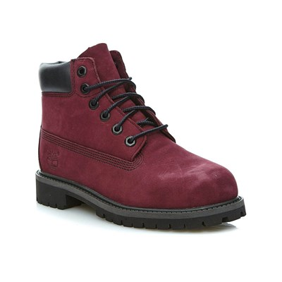 zapatillas Timberland 6 IN PREMIUM WP BOOT PORT ROYALE Botines de cuero burdeos