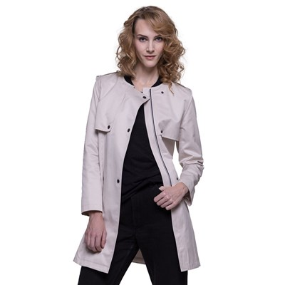 Coat Coat Trench Trench And And Trench Écru Écru BvxYtv