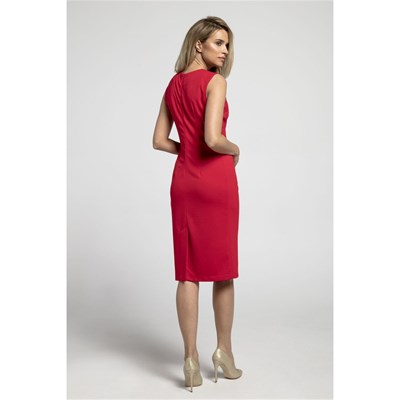 Droite Kabelle Kabelle Robe Rouge Robe 5OXwfWWqt