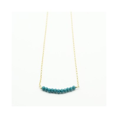 MILLIGRAM PARIS Collier chaine - bleu