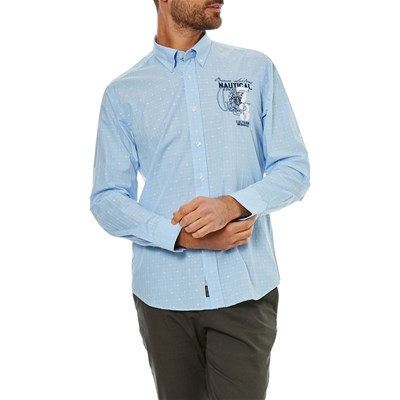 Galvanni Mighty - Chemise manches longues - bleu clair