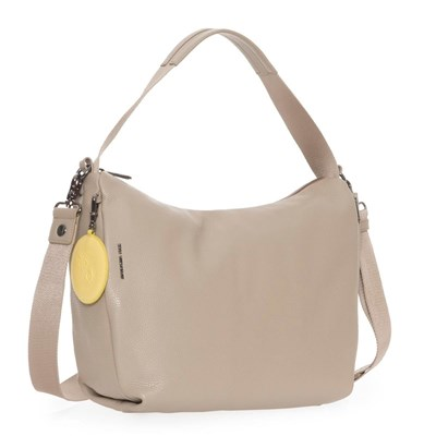 MANDARINA DUCK Manhattan - Sac hobo en cuir - marron