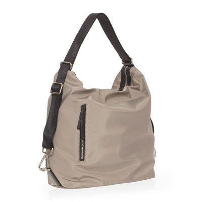 MANDARINA DUCK Hunter - Sac porte épaule en cuir - marron
