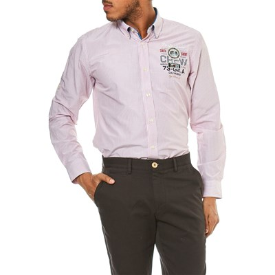 Galvanni Haines - Chemise manches longues - rose clair