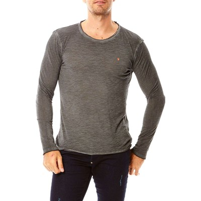 Deepend T-shirt manches longues - gris
