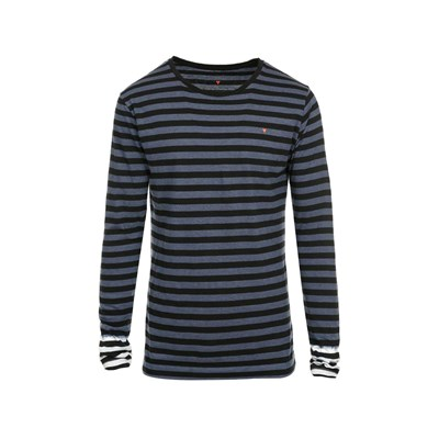 Deepend T-shirt manches longues - bicolore