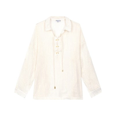 Amenapih Brittany - Chemise manches longues - blanc