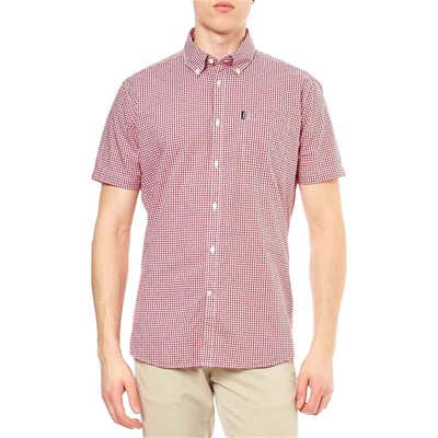 Barbour Lifestyle Chemise manches courtes - rouge