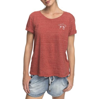 Courtes Manches Roxy T shirt Terre aqBwHxtwE