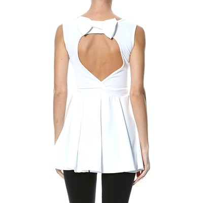 Le dressing d'Alisson Robe patineuse - blanc
