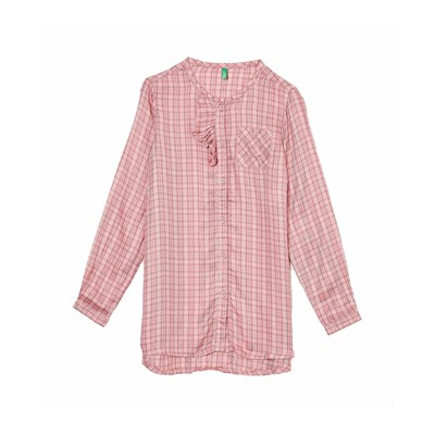 Benetton Chemise manches longues - rose