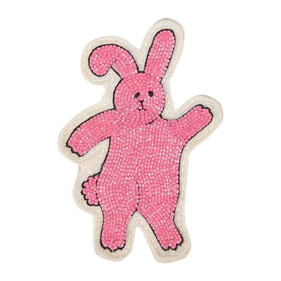 OLYMPIA LE TAN Sticker Lapin - rose