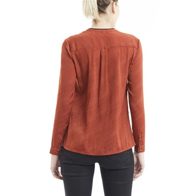 Rosso Lee Camicia Duccy Cooper Lunghe Maniche A rggT1Yn7