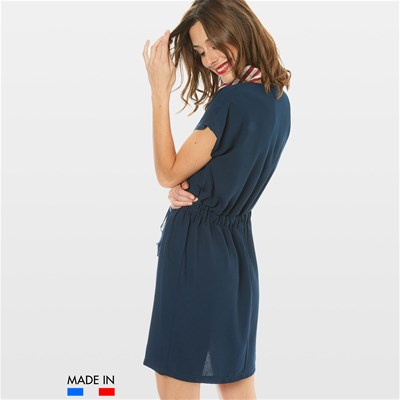 BRANDALLEY LA COLLECTION Lola - Robe fluide - bleu marine