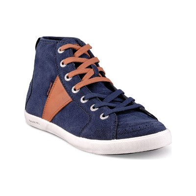 PEOPLESWALK FOREST - Baskets Mode - bleues marine