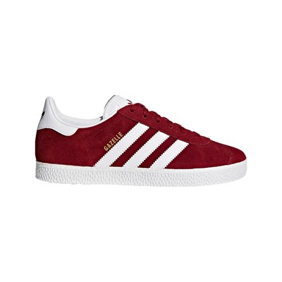 Adidas Originals gazelle j - baskets - rouge