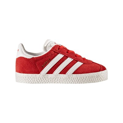 Adidas Originals gazelle i - baskets en cuir - rouge