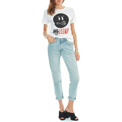 SMILEY Disobey - T-shirt manches courtes - blanc