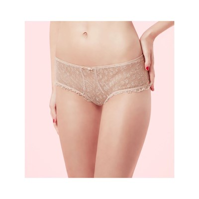 Chantal Thomass volage - boxer - beige