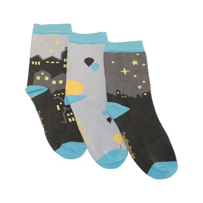 Despasrayés by night - chaussettes - multicolore