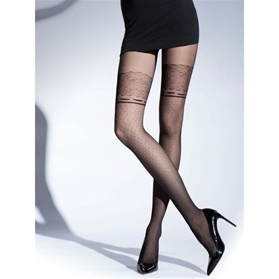 Knittex Wonderland - Collants en voile - noir