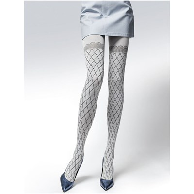 Knittex Fairy - Collants fantaisie - ecru