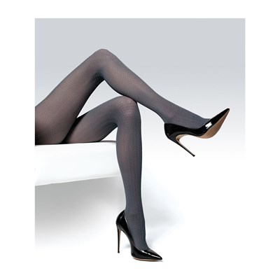 Knittex Foxy - Collants fantaisie - gris