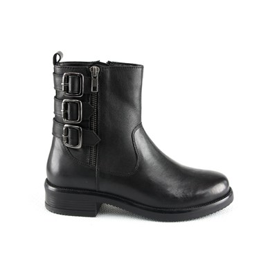 MANOUKIAN Bottines en cuir - noir