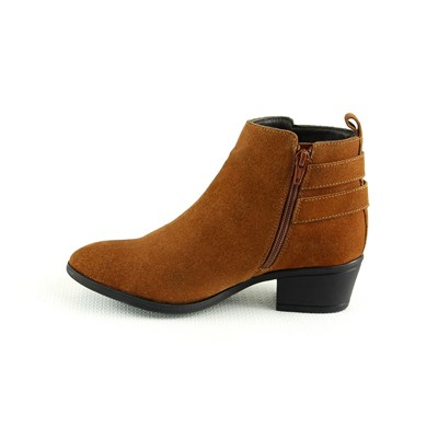 MANOUKIAN Bottines en cuir - cognac