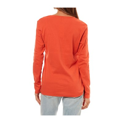 Longues Orange shirt Benetton Manches T qgwtSHvxpX