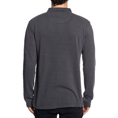Longues Manches Polo Shev Quiksilver Grigio YxwqPy7YHS