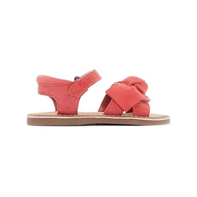 Kickers Dinoeud bb - sandales en cuir - rose