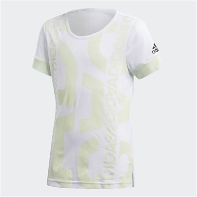 Adidas Performance yg id graphic t - t-shirt manches courtes - blanc