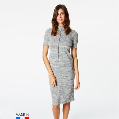 Brandalley Lunghezza Riva Vestito Di La Media Grigio Collection YEqrwY6Pxn