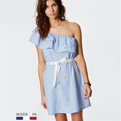 BrandAlley La Collection Billy - Robe droite - bleu ciel