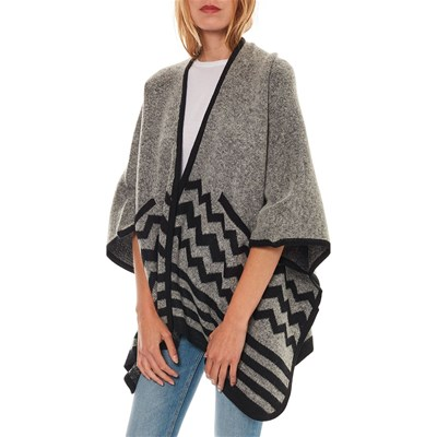 BEST MOUNTAIN Poncho - gris
