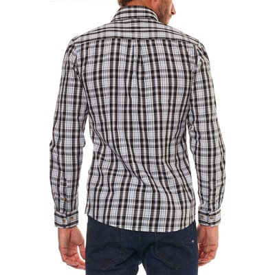 De Camisa Mountain Negro Manga Best Larga EqRpH