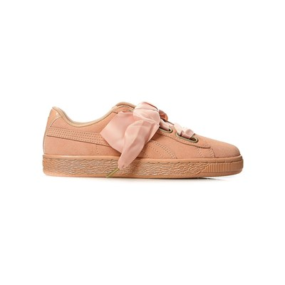 PUMA Baskets en cuir - rose