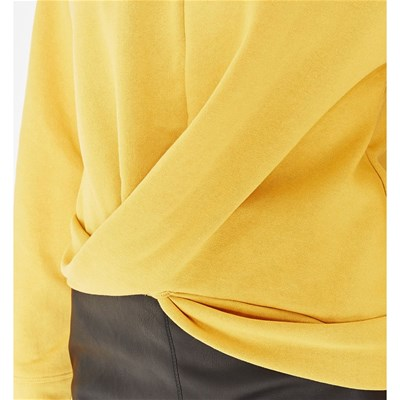 Sweat Molleton En Jaune shirt Promod wOC7qzCx