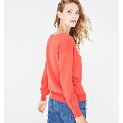Rouge Promod Rouge Fin Fin Pull Promod Nxhxqyitt Pull vqv4URO