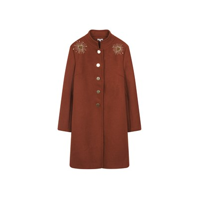 Amenapih Livia - manteau 30 % laine - marron clair